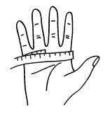talla de guantes